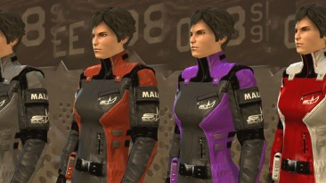 """Deus Ex: Human Revolution """"Новые цвета костюма для Фариды Малик"""""""