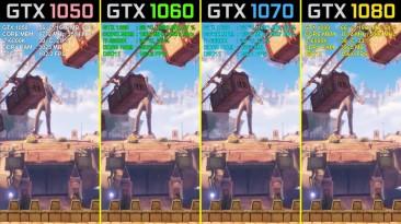 Bioshock Infinite - GTX 1050 Ti vs. GTX 1060 vs. GTX 1070 vs. GTX 1080