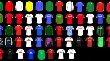 """FIFA 21 """"Большой пак классических форм Манчестер Юнайтед"""""""