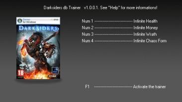 Darksiders - Wrath of War: Трейнер (+4) [1.001] {dbhackerZ}