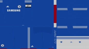 """PES 2010 """"Chelsea 10/11 Home Kit by Asiat"""""""