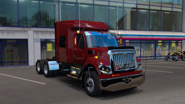 "Euro Truck Simulator 2 ""International Workstar v1.3 (1.40.x)"""