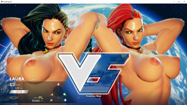 "Street Fighter 5 ""Nude Laura Mod"""