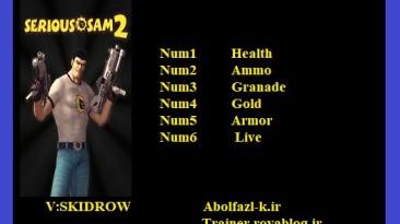 Serious Sam 2: Трейнер/Trainer (+6) [2.90] {Abolfazl.k}