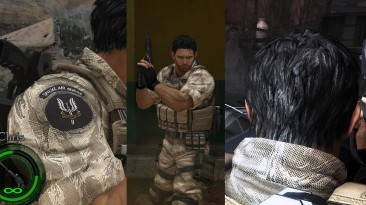 """Resident Evil 5 """"Крис SAS (исправленный)"""""""