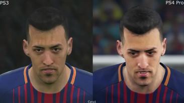PES 2018 PS3 vs PS4 Pro Сравнение графики (Cycu1)