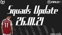 """FIFA 21 """"Официальное обновление составов от 26.01.21"""""""