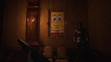 "Resident Evil: Village ""Картины Губки Боба"""