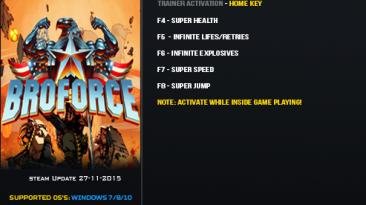 BroForce: Трейнер/Trainer (+5) [Update 27.11.2015] {LinGon}