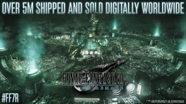 Тираж ремейка Final Fantasy 7 составил 5 млн. копий