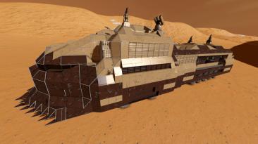 """Space Engineers """"Пустынный поезд"""""""