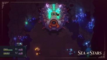 В новом коротком видео Sea of Stars демонстрируется битва с гигантским боссом-слизняком