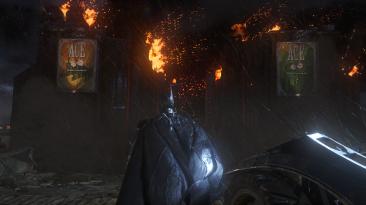 "Batman: Arkham Knight ""Удаление размытие и улучшение графики"""