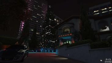 """Grand Theft Auto 5 """" Новогодние украшения для дома Майкла """""""