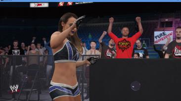 """WWE 2K16 """"Emma WWE наряд 2K18 Port MOD"""""""