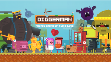 14 минут Геймплея Diggerman для Nintendo Switch