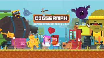 14 минут Геймплея Diggerman для Nintendo Switch