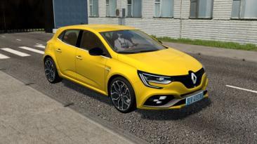 """City Car Driving """"2018 Renault Megane RS Update (v1.5.8 - 1.5.9.2)"""""""