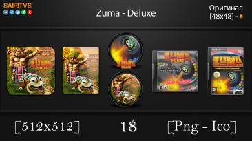 """Zuma: Deluxe """"Иконки (ArtGamer)"""""""