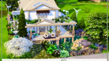 """The Sims 4 """"Grone Eco дом"""""""