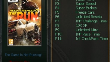 Need for Speed - The Run: Трейнер/Trainer (+10) [All Versions: 1.0 & Others] {testhawk}