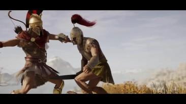 Assassin's Creed: Odyssey (трейлер Gamescom 2018) - русский и ламповый - VHSник