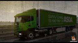 "Euro Truck Simulator 2 ""Мод Реалистичный Дождь и Звуки Грома v3.9 (1.39.x)"""