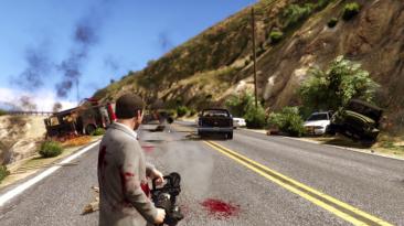 """Grand Theft Auto 5 """"Rocket Firing Guns"""""""