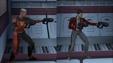 """Star Wars: Knights of the Old Republic """"M-6 Carnifex Hand Cannon Replacement"""""""