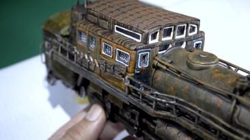 """Самодельный паровоз """"Аврора"""" из Игры Metro Exodus"""