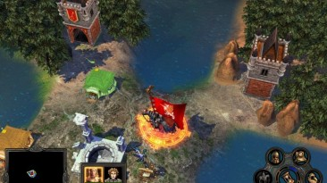 """Heroes Of Might And Magic 5: Владыки Севера """"Карта - Annavantas Suche Teil 3"""""""