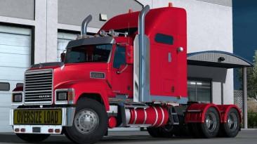 "Euro Truck Simulator 2 ""Грузовик: MACK Pinnacle CHU613 (1.37-1.38)"""