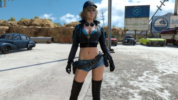 """Final Fantasy 15 """"Cindy in Black and Blue"""""""