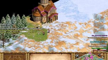 """Age of Empires 2: Age of Kings """"Карта с огромными залежами золота на восемь игроков"""