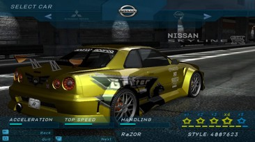 "NFSU Beta ""Eastsiderz Vinyls"""