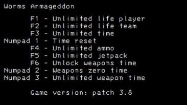Worms Armageddon: Трейнер/Trainer (+9) [3.8] {LIRW / GHL}