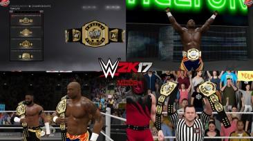 "WWE 2K17 ""AEW Tag Team Championship WWE 2K19 Порт МОД"""