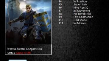 Crusader Kings 2: Трейнер/Trainer (+11) [3.0] {MrAntiFun}