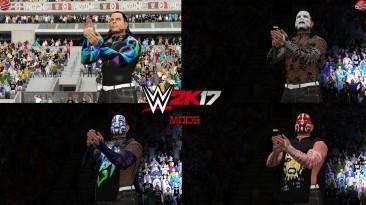 "WWE 2K17 ""Jeff Hardy + 8 Нарядов (Лицевая анимация) WWE 2K19 Порт мод"""