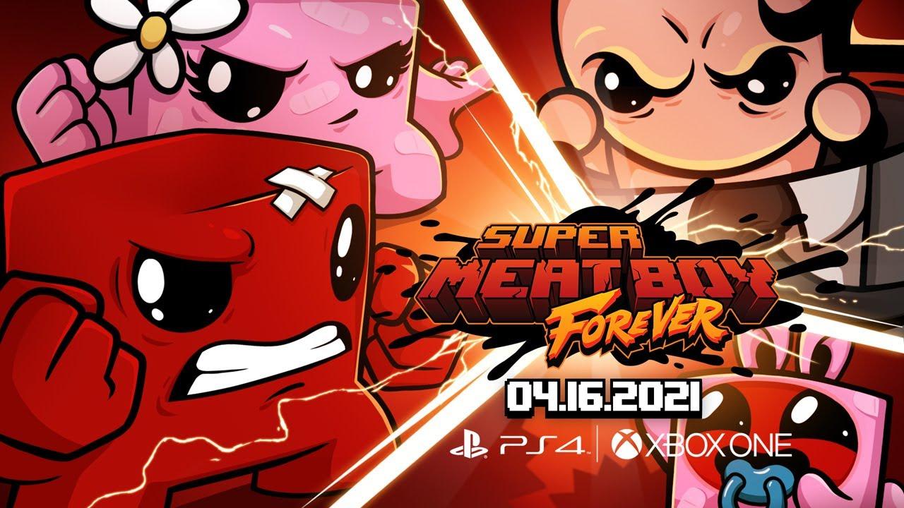 Super Meat Boy Forever для PS4 и Xbox One выйдет 16 апреля