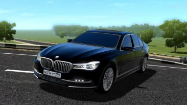 "City Car Driving ""BMW 750i G11 (v1.5.9 - 1.5.9.2)"""