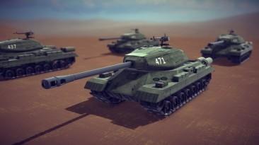 "Besiege ""ИС-4 тяжёлый танк"""