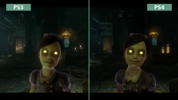 BioShock 2 - Сравнение графики PS3 Original vs PS4 Remaster (Candyland)