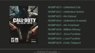 Call of Duty: Black Ops: Трейнер (+6) [1.0 - Update 1] {KelSat}
