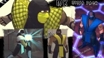"Super Street Fighter 4 AE ""Mortal Kombat pack """