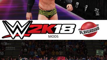 """WWE 2K18 """"Justin Gabriel MOD"""""""
