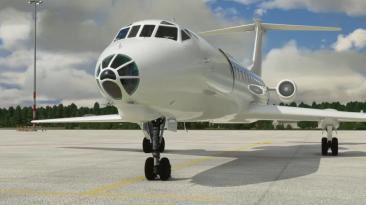 Видео предстоящей надстройки Ту-134 для Microsoft Flight Simulator