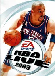 Обложка игры NBA Live 2003