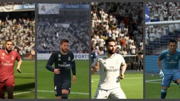 "FIFA 18 ""Real Madrid CF full kits pack + minikits + new number"""
