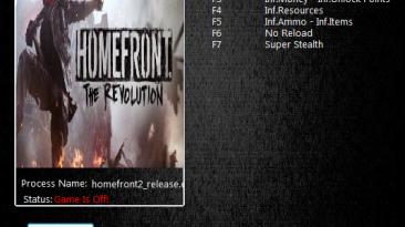 Homefront: The Revolution: Трейнер/Trainer (+9) [685821] {MrAntiFun}